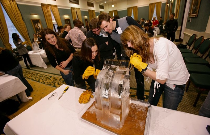 Ice Carving Team Building Activity 6
