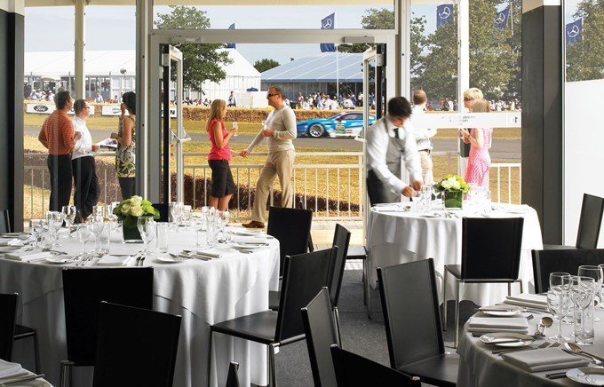 Goodwood Festival of Speed Hospitality – Gurney Pavilion
