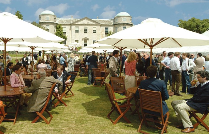 Goodwood Festival of Speed Hospitality – Library Lawn