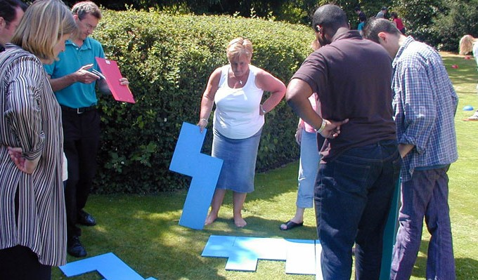 Krypton Factor Team Building Activity 2
