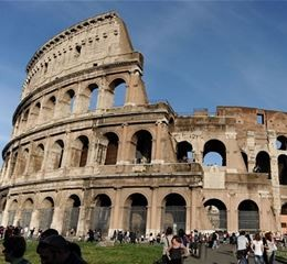 Image of the colleseum seen during and incentive trip to Rome.