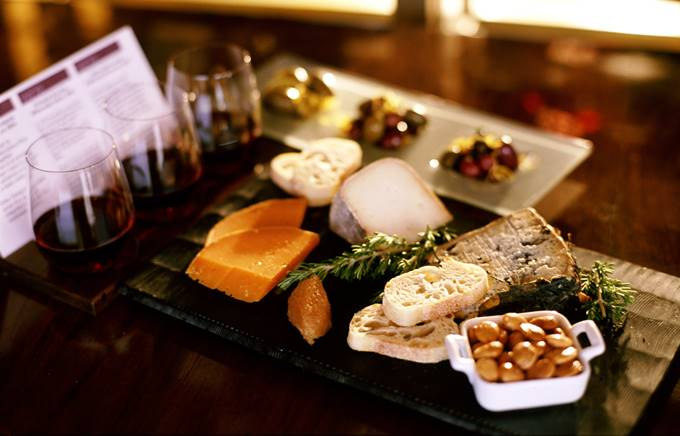 Cheese and wine evening corporate event 2