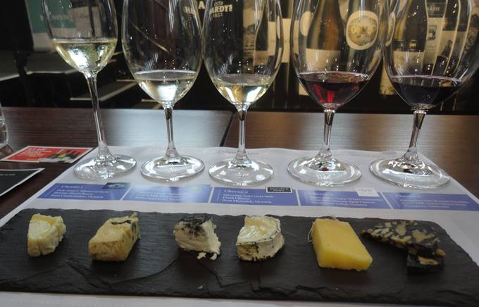 Cheese and wine evening corporate event 3