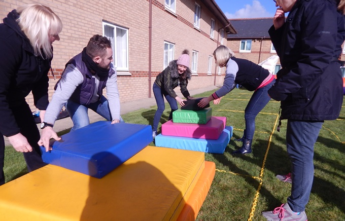 Crystal maze team building activity 3