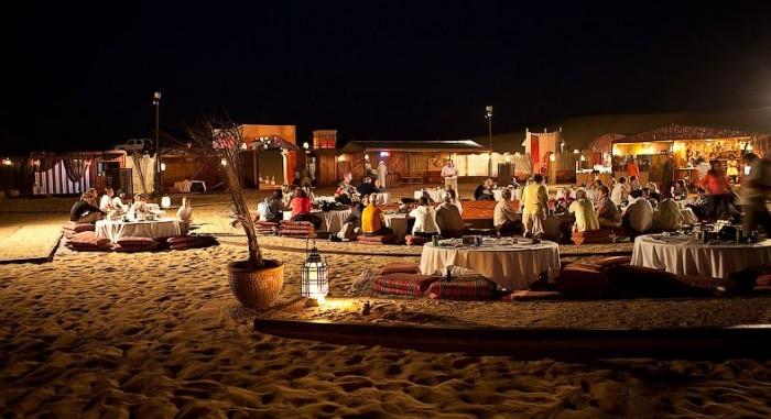 Incetive travel destinations - desert safari