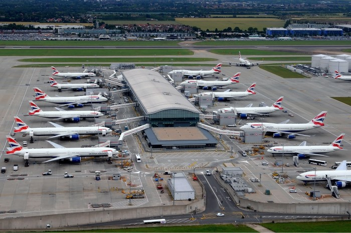Incetnive travel destinations - Aeroplanes