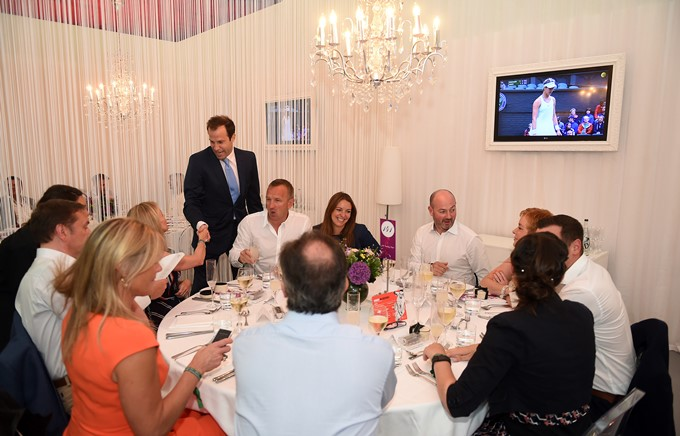 The Players Tables Hospitality – Wimbledon 4