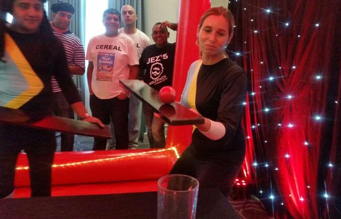 The Qube – Indoor team building activity