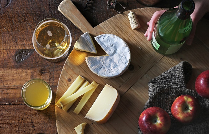 Cider vs Cheese Tasting Team Building Activity