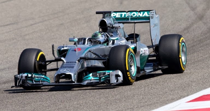 Bahrain Test - Mercedes
