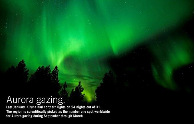 Incentive Travel - Swedish Lapland - Northern Lights