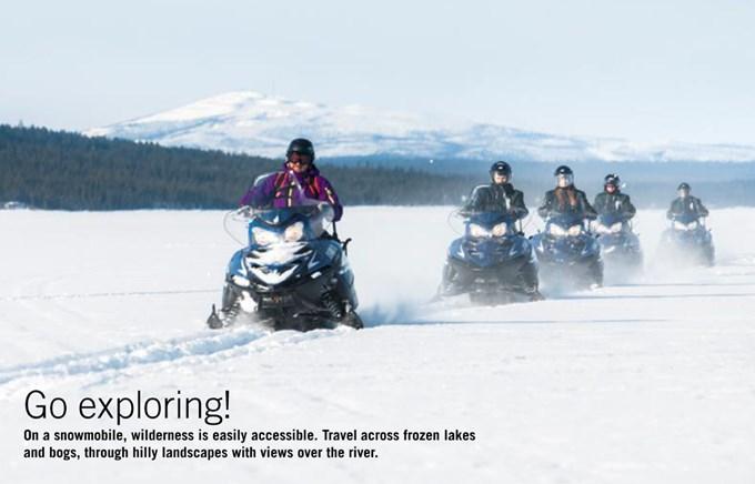 Incentive Travel - Swedish Lapland - Snowmobile