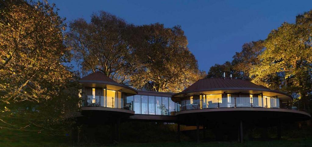 Amazing tree house meeting venue